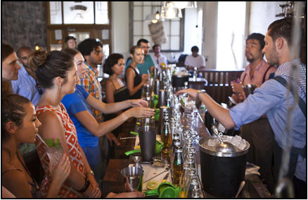 mixology classes for team building
